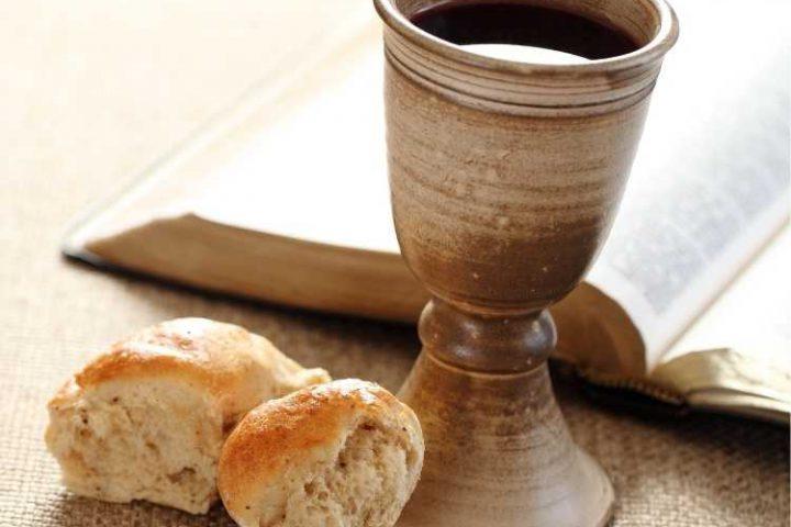 Bible bread & wine